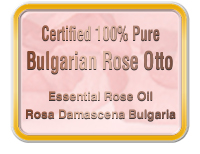 Rose oil                                                 certificate of analysis
