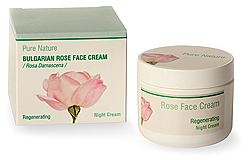 Night Face Cream – Bulgarian Rose